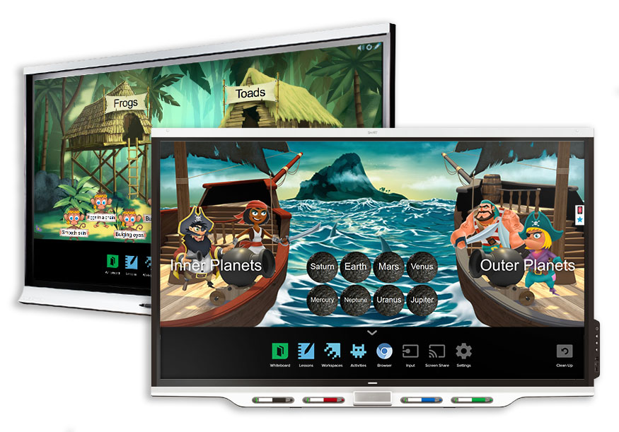 Multimedialna klasa z tablicą Smart Board