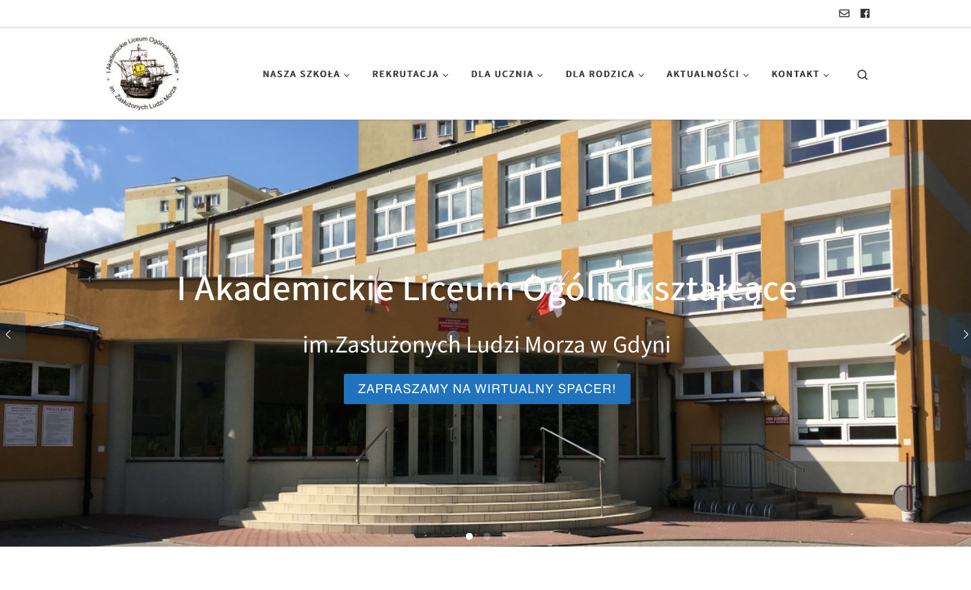 Strona www 1 ALO Gdynia