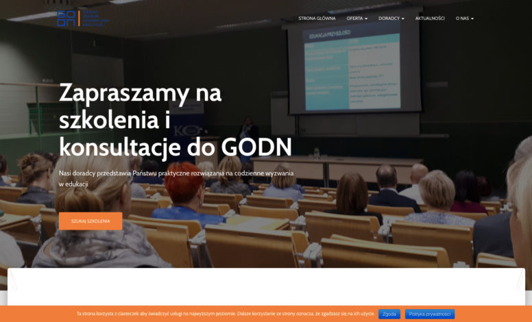 Strona www GODN